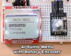 Arduino Menu on a Nokia 5110 Lcd Using a Rotary Encoder