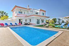 Villa Rosa, Olhos D'Agua, Algarve, Portugal. Find more at www.villaplus.com