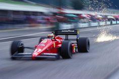 Michele Alboreto  Ferrari 1987