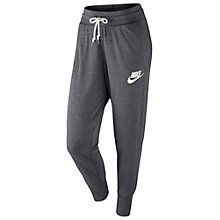 Buy Nike Gym Vintage Training Trousers, Dark Grey Online at johnlewis.com