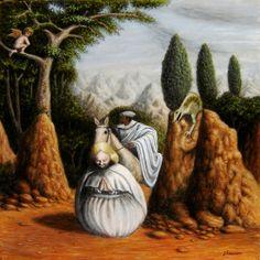 "JÓSEAN FIGUEROA ""Freud/St. George and the Dragon"". Figueroa is an architect, artist and writer. See his sites: http://joseanfigueroa.wordpress.com http://joseanfigueroa.blogspot.com http://joseanfigueroalibros.blogspot.com"