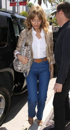Jessica Alba in MiH Jeans.  Shop this style: http://us.mih-jeans.com/womens-jeans/the-milan-reed.html.