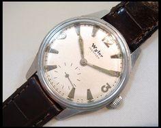 時計[wa128]希少本物 wylerスモセコ付手巻きアンティークウメc Watch analog hand winding ¥49800yen 〆05月09日