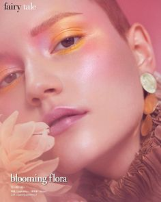 """2,052 Likes, 28 Comments - Lottie S (@lotstar) on Instagram: """"@lina_hoss for @voguetaiwan photo @zoeygrossman makeup @lotstar using @cozzette eye shadow and…"""""""