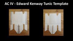 AC IV - Edward Kenway Updated Tunic Template by ConnorKenwayIII.deviantart.com on @deviantART