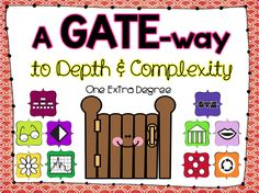 One Extra Degree: My Literate Life... plus a GATE-way to Depth and Complexity!