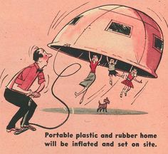 "It's a Wonderful World – Tomorrow!"" New York Mirror Magazine, May 1958 Ilustrations by Bob Bugg. https://remindmagazine.wordpress.com/category/the-fifties/page/3/"
