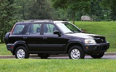 1997 Honda CRV (You should be jealous of this one. It was my favorite!)