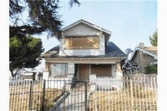 Hot new HUD listing! Incredible opportunity to own an original LA Craftsman style home at a bargain price. This home features 6 bedrooms and 3 baths on two levels as well as a basement. Although not for the faint at heart, this home is perfect for the remodeler/rebuild expert who wants to recreate the charm of a century past. This is a cash or rehab loan project only! Don't miss this rare opportunity call today to schedule a private tour.1057 W 49th St, Los Angeles, 90037.