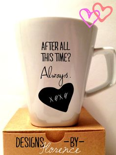 After All This Time - Always Harry Potter Mug on Etsy, $22.99