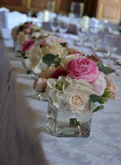 flower arranging | Inspiration for Table Flower Arrangements