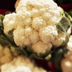 3 Calories: Cauliflower - Low Calorie Foods: 50 Low Calorie Foods That Pack Flavor - Shape Magazine Pan Fried Cauliflower, Cauliflower Gratin, Low Fat Cheese, Low Calorie Recipes, Lo Calorie Meals, Raw Food Recipes, Clean Recipes, Healthy Recipes, Casserole Dishes
