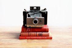 1960s Polaroid Land Camera Original 100 Model / by ChapsAndRascal, $63.50