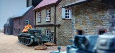 80: Und wieder beharken sich Cromwell und Pz III. Nun greift auch ein deutscher Infanterietrupp den Cromwell im Nahkmapf an.