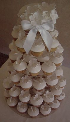 so torn between a cupcake tower or a traditional cake...