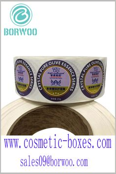 Round printed labels for skin care products. Sticking round labels on the bottle caps of skin care products is one of the effective ways to increase brand awareness. Cosmetic Labels, Cosmetic Box, Cosmetic Packaging, Packaging Manufacturers, Round Labels, Packaging Solutions, Bottle Caps, Print Packaging, Printing Labels