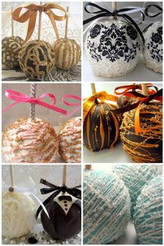 Candy Apple Wedding Favors / The Apple Of My Eye « Wedding Ideas, Top Wedding Blog's, Wedding Trends 2014 – David Tutera's It's a Bride's Life