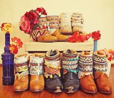 Decorated Cowboy boots