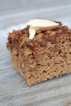 Whole Wheat Cinnamon Coffee Cake  Pidge's Pantry #wholewheat #justaddgood
