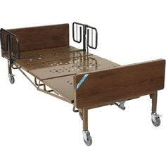 Drive Medical: Drive Medical - - Full Electric Super Heavy Duty Bariatric Hospital Bed with T Rails, With quiet, smooth operation and a heavy-duty steel frame, this full electric bariatric bed from Drive Medical ensures you pe Bed Cover Sets, Bed Covers, Bed Positions, Bed End, Hospital Bed, Bed Rails, Bed Styling, Orange, Drafting Desk