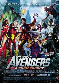 """Avengers"" porn parody"