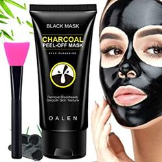 This is one of the Best Products To Remove Blackheads Black Peel Off Mask, Best Peel Off Mask, Black Mask, Activated Charcoal Mask, Charcoal Peel Off Mask, Blackhead Peel Off Mask, Blackhead Remover, Doterra Acne, Charcoal Mask Benefits