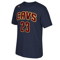 ec7a2af60 Cleveland Cavaliers Lebron James Adidas Navy Alternate T Shirt Tshirt  XXLarge     You can