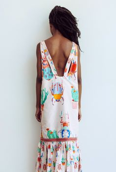 Caroline Rose Kaufman - printed summer dress