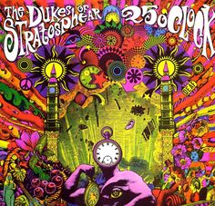 The Dukes of Stratosphear - 25 O'Clock (1985) 25 O'Clock is a mini-album from XTC which was released under their pseudonym The Dukes of Stratosphear, and is their eighth studio album. Released on April Fool's Day, the mini-album was a tongue in cheek homage to the heyday of psychedelic rock.