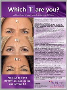 Which one are you? Botox®!!! Destination Aesthetics, Sacramento's premier med spa, is the place to pamper yourself for total rejuvenation! Call 916.844.4913 to schedule an appointment or visit our website www.destinationaesthetics.com for more information!