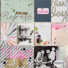 Charissa Miller Designs: Project Life 2014 Title Page