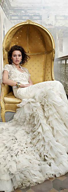 Miss Millionairess: Lazaro gown