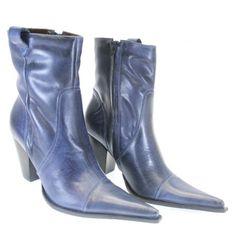 Bota RB Shoes 1020 Azul | Moselle sapatos finos femininos! Moselle sua boutique online.
