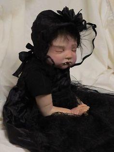 OOAK Reborn Baby Girl Vampire  | eBay