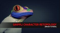 Grippli Character Retopology using Zbrush : Tutorial