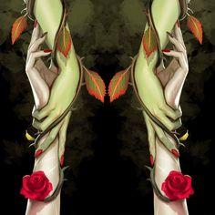 Harley Quinn. Poison Ivy.
