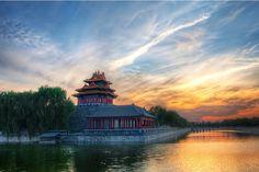Entering the Forbidden City Shanghai, Palacio Imperial, Asian Wallpaper, Nature Wallpaper, Hd Wallpaper, Excursion, Beijing China, Beijing Food, China Travel