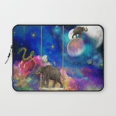 Buy Space elephants Laptop Sleeve by haroulita. Worldwide shipping available at Society6.com. Just one of millions of high quality products available.