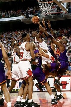 Earning The Deuce, '93 Finals.