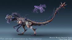 Genesis 2, Dragon Artwork, Dragon Pictures, Dinosaur Design, Creature Concept Art, Building Designs, Fantasy Monster, 3d Animation, Ark