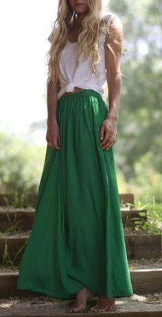 Buy a maxi skirt