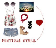 """Festival style. ❤️"" by marie-detaille on Polyvore"