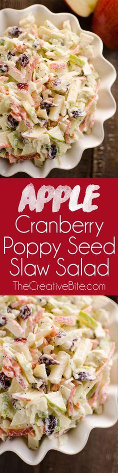 Apple Cranberry Popp