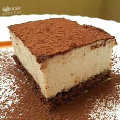 "Vegan Food Lovers on Instagram: ""Vegan Food Lovers Features Raw Vegan Tiramisu  By @therawadventure"
