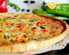 Cook your quiches! Healthy Diet Recipes, Real Food Recipes, Cooking Recipes, Yummy Food, Quiches, Tapas, Puff Pastry Recipes, Quiche Recipes, Kitchen Recipes