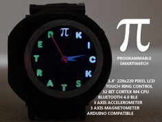 The Pi Watch - A Programmable, Open Source Smartwatch!'s video poster