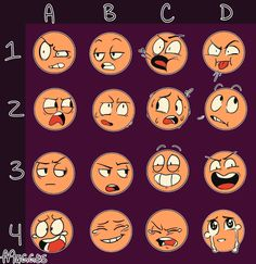 your source for expression art challenges Drawing Ideas List, Drawing Reference Poses, Drawing Poses, Drawing Sketches, Art Drawings, Sketch Art, Drawing Tips, Drawing Face Expressions, Facial Expressions