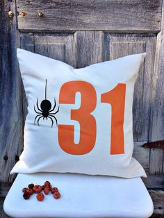 Halloween pillow cover  31  on Etsy, $20.00