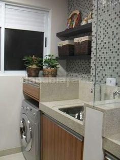 Decor: 20 lavanderias incríveis! - Você precisa decorVocê precisa decor House Styles, Bathrooms Remodel, House Design, Interior Design Living Room, Laundry Mud Room, House Rooms, Home Decor, Laundry Decor, Home N Decor