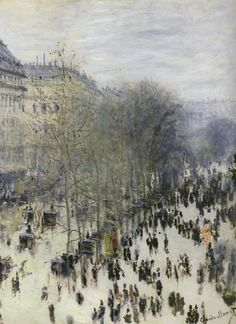 A FAVORITE of Claude Monet (Boulevard des Capucines, Claude Monet, 1873-74)